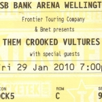 Them Crooked Vultures, TSB Bank Arena,Wellington