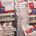 LED ZEPPELIN FEATHER IN THE WIND – OVER EUROPE 1980: PERFECT SUMMER READING