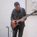 UP EXTREMELY CLOSE AND PERSONAL WITH  JOHN PAUL JONES ON A SUNDAY LUNCHTIME AT THE KETTLE'S YARD CAMBRIDE: CONVERSATION WITH STEPHEN MONTAGUE AND BASS PLAYING… ''BUT NOT AS WE KNOW IT''
