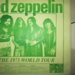 TBL ARCHIVE 1975 US TOUR SNAPSHOT/JAPAN 1971 CINE FILM/LZ NEWS/ PHYSICAL GRAFFITI MONTH/TRANSMISSIONS 1969 REVIEW/DL DIARY BLOG UPDATE