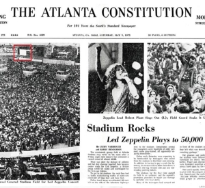 ATLANTA AND TAMPA – IT WAS 48 YEARS AGO/EVENINGS WITH REVISED AND EXPANDED PRE ORDER DETAILS/ NEW 1975 US TOUR TAPE SURFACES/LZ NEWS/ROBERT PLANT & SS – GLOUCESTER 2012/DL DIARY BLOG UPDATE/