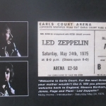 IT WAS 40 YEARS AGO TODAY – LED ZEPPELIN AT EARLS COURT SATURDAY MAY 24 1975