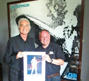 JIMMY PAGE INTERVIEW IN TBL 39/FIVE GLORIOUS NIGHTS UPDATE /OVER EUROPE 35 YEARS GONE/DL DIARY UPDATE/