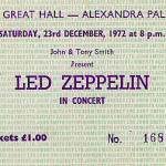 SEASONS GREETINGS FROM ME TO YOU/ ZEP AT ALLY PALLY CHRISTMAS 1972/LZ NEWS/ MARTIN POPOFF ZEP BOOK REVIEW/A TBL CHRISTMAS CAROL FROM 1979/DL DIARY BLOG UPDATE