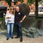 EXCLUSIVE DEBORAH BONHAM INTERVIEW PLUS INTERVIEW WITH JOHN BONHAM MEMORIAL STATUE SCULPTOR MARK RICHARDS/LZ NEWS/LED ZEPPELIN DVD 15 YEARS GONE/DL DIARY BLOG UPDATE