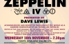 THE CAT CLUB PRESENTS LED ZEPPELIN IV CLASSIC VINYL ALBUM EVENT /LZ NEWS/TBL ARCHIVE – LED ZEP IV – GOALDIGGERS AND MM AWARDS 1979/EVENINGS WITH NOW ON US AMAZON/VIP VICTORIA RECORD FAIR/ DL DIARY BLOG UPDATE