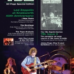 TBL 45 PRE ORDER DETAILS/ LZ NEWS/EARLS COURT 44 YEARS GONE/HEATHROW 42 YEARS GONE/ DEBORAH BONHAM IN THE US/ DAVID HEPWORTH A FABULOUS CREATION BOOK REVIEW /LET IT BE AND ME/DL DIARY BLOG UPDATE