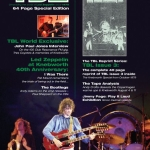 WORLD EXLUSIVE NEW INTERVIEW WITH JOHN PAUL JONES FOR TBL 45/ TBL ATLAS KNEBWORTH 40TH ANNIVERSARY EVENT/LZ NEWS/OVER EUROPE 39 YEARS GONE/ROBERET PLANT PICTURES AT ELEVEN/CASSETTE FEEDBACK/DL DIARY BLOG UPDATE