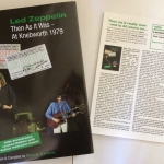 KNEBWORTH BOOK RE-PACKAGE/LZ NEWS/ JPJ IN JAPAN/ THE FRIEND FILM/ SOUNDS COMPLETE LED ZEP 41 YEARS GONE/ WEMBLEY '85/O2 ANNOUNCEMENT 12 YEARS GONE/ CODA REDDITCH GIG/PLAY IT LOUD PICS/DL DIARY BLOG UPDATE