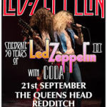 CODA REDDITCH GIG & DRUMMER OF THE YEAR EVENT/ HOSSAM RAMZY & RIC OCASEK RIP/LZ NEWS/REMEMBERING JIMI HENDRIX AND MARC BOLAN/DL DIARY BLOG UPDATE