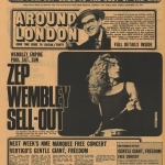 ELECTRIC MAGIC AT THE EMPIRE POOL WEMBLEY & LED ZEPPELIN IV – IT WAS 49 YEARS AGO/MSG 1975 CINE FILM/LZ NEWS/PETER GRANT 25 YEARS GONE/KNEBWORTH BOOK LAUNCH 2013/DL DIARY BLOG UPDATE
