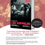 EVENINGS WITH LED ZEPPELIN REVISED & EXPANDED EDITION -THE COUNTDOWN IS ON/NEW 1975 US TOUR CINE FILM/LZ NEWS/TBL ARCHIVE FATE OF NATIONS/ PONTIAC 44 YEARS GONE/ROCK MACHINE/ DL DIARY BLOG UPDATE