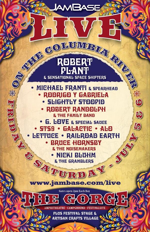 robert plant jam base
