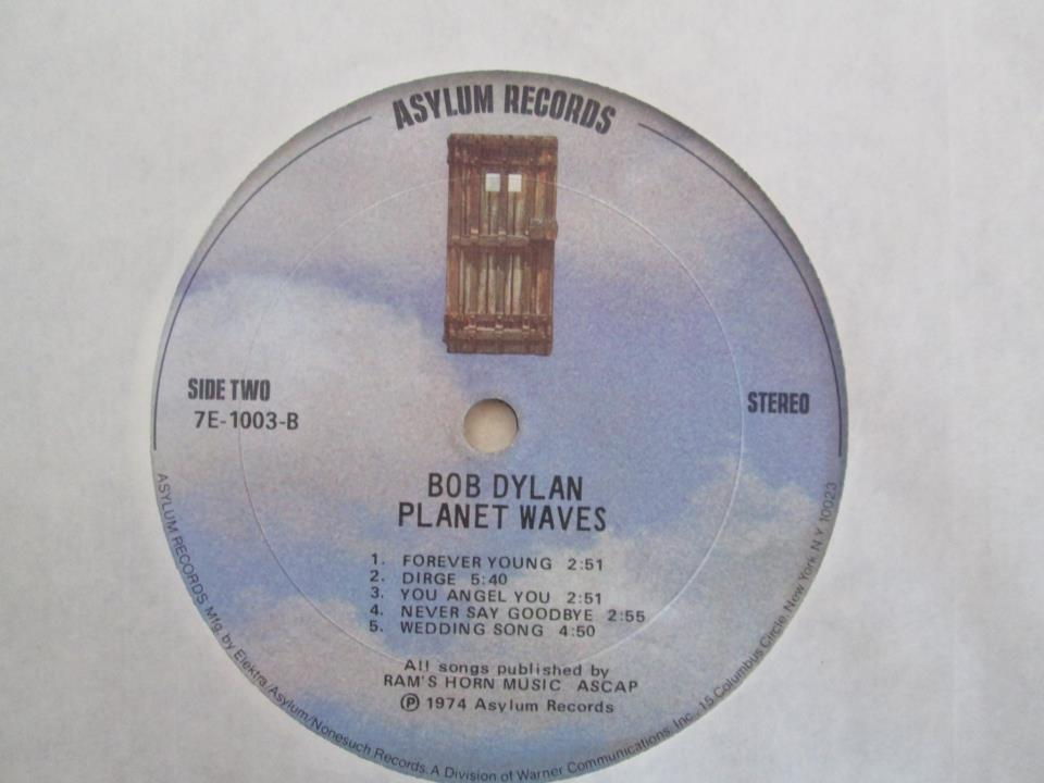 dylan planet waves