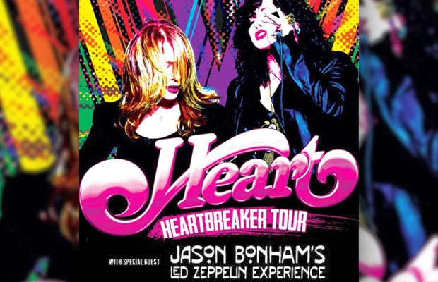 Heart Bonham Canadian Tour