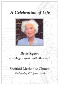 Betty for June 8