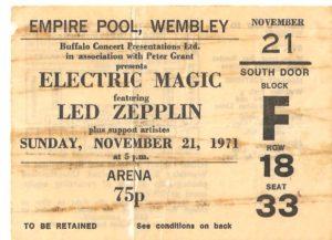wembley ticket