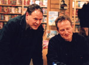 JPJ&Dave Lewis at Borders