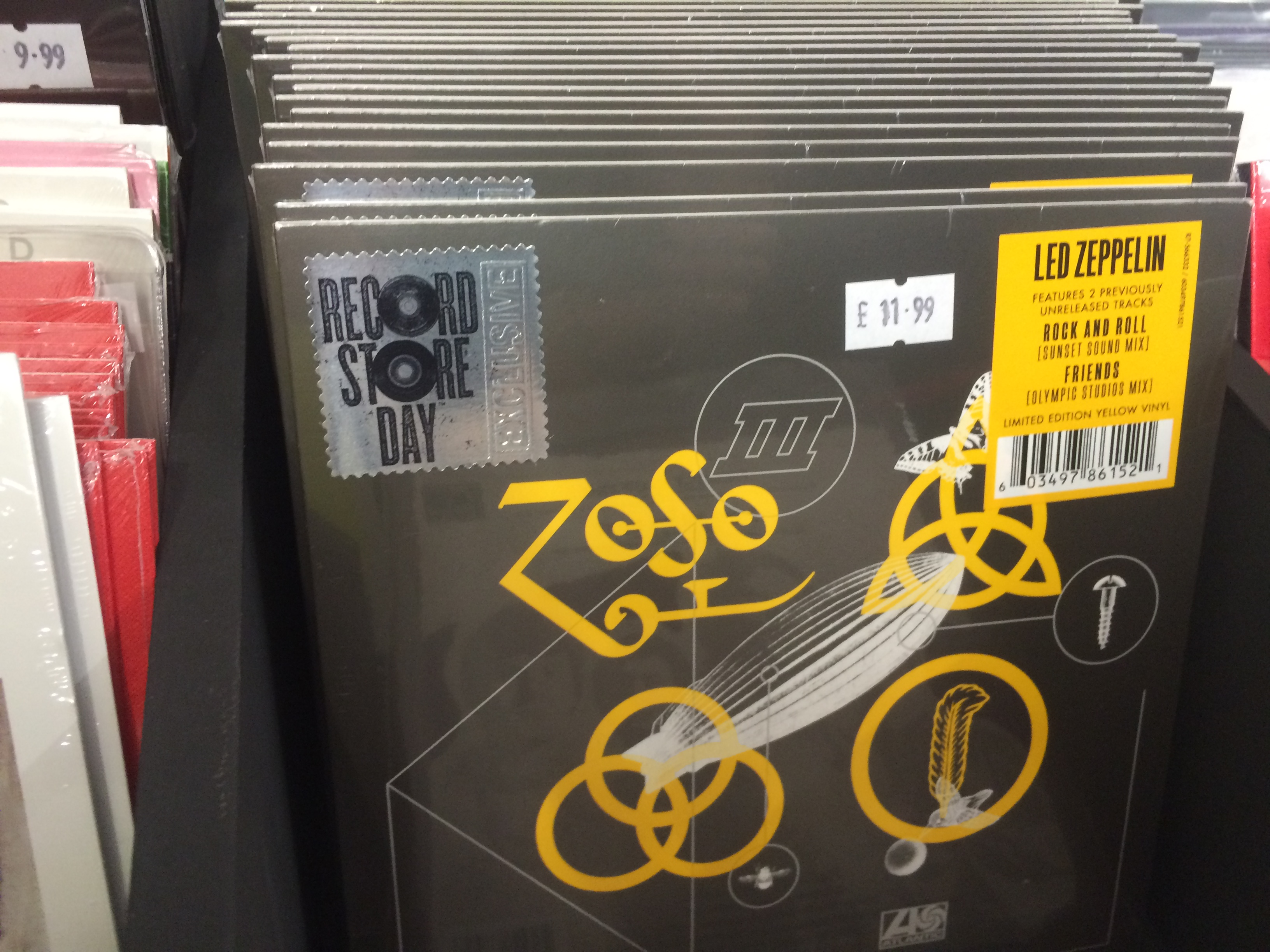 Tight But Loose » Blog Archive » LED ZEPPELIN ON 45RPM/ FULL